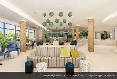 Interior- Renovat el 2020 Hotel AluaSoul Palma (Només adults) Cala Estancia, Mallorca