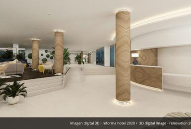 Vestíbul- Renovat el 2020 Hotel AluaSoul Palma (Només adults) Cala Estancia, Mallorca