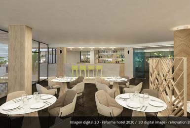 Bar- Renovat el 2020 Hotel AluaSoul Palma (Només adults) Cala Estancia, Mallorca