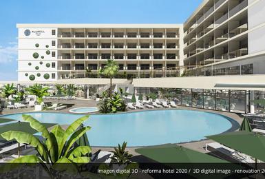 Exterior Hotel AluaSoul Palma (Només adults) Cala Estancia, Mallorca