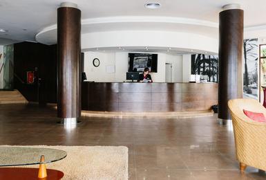 Recepció Hotel AluaSoul Palma (Només adults) Cala Estancia, Mallorca